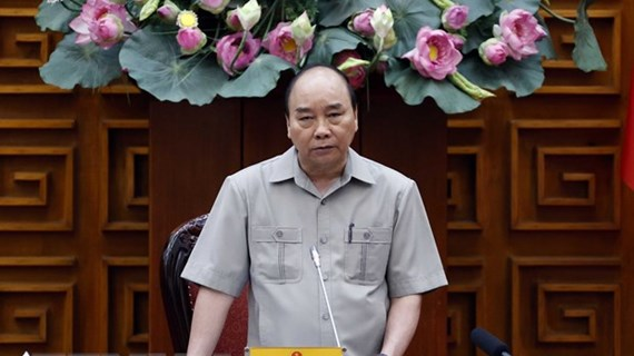PM urges resolve to prevent negative growth
