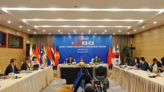 ASEAN+3 countries discuss financial cooperation