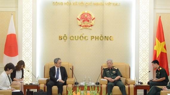 Deputy Defence Minister receives Japanese Ambassador