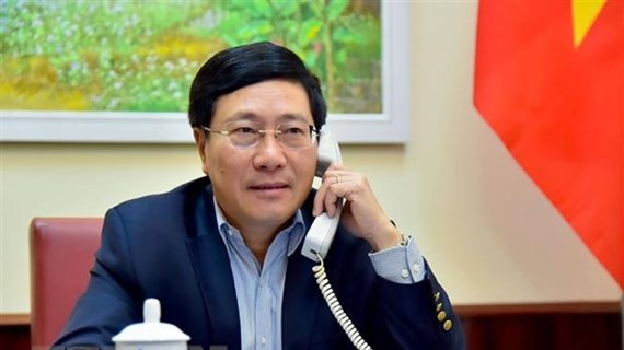 Vietnamese, German Foreign Ministers hold phone talks