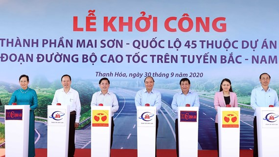 PM orders to start work on Mai Son - National Highway 45 expressway