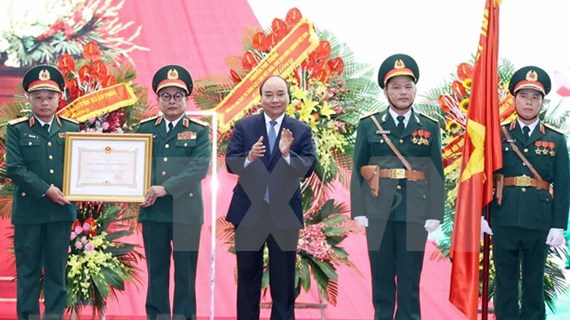 PM honours General Department of Defence Intelligence