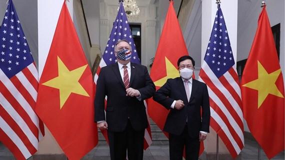 Vietnam values comprehensive partnership with US: Deputy PM