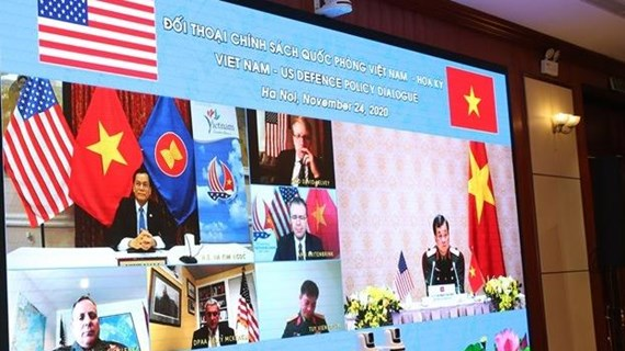Vietnam-US defence policy dialogue held online