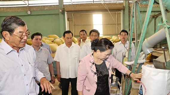 Top legislator visits Soc Trang province