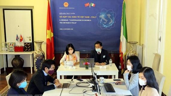 Vietnam, Italy seek ways to bolster economic ties
