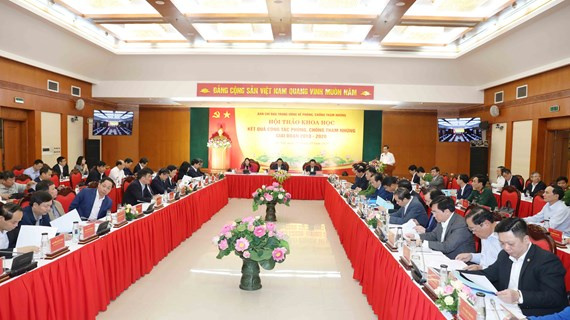 Corruption fight fruitful, wins over people's support: symposium