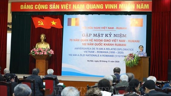 70th anniversary of Vietnam-Romania diplomatic ties celebrated in Hanoi