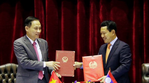 Vietnam-Laos annual meeting reviews border management