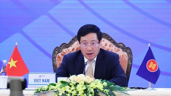 Vietnam supports upgrade of ASEAN-EU ties to strategic partnership