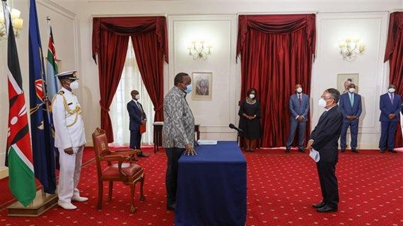 New Vietnamese ambassador seeks to bolster Vietnam-Kenya ties