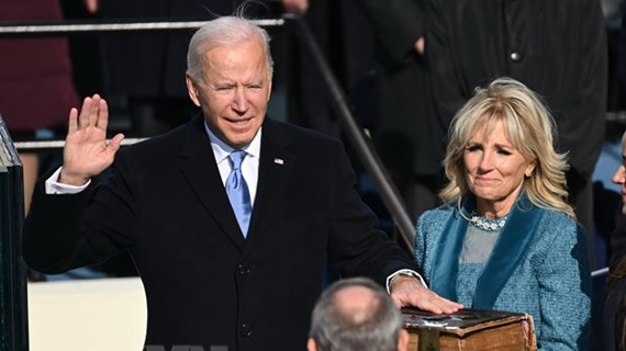 Congratulations to new US President, Vice President
