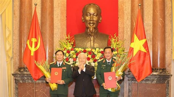 Military officers promoted to rank of Senior Lieutenant General