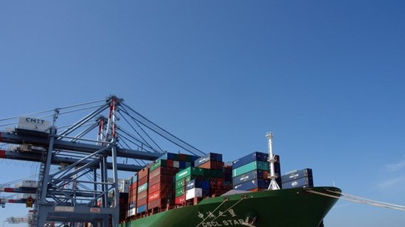 Cai Mep – Thi Vai port receives vessel destined for West Coast of US