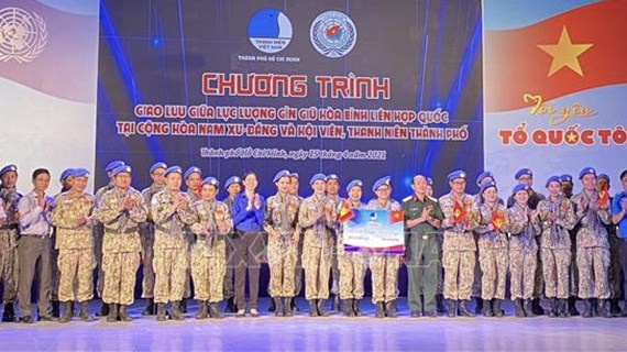 Exchange held between Vietnamese peacekeepers, HCM City's youths