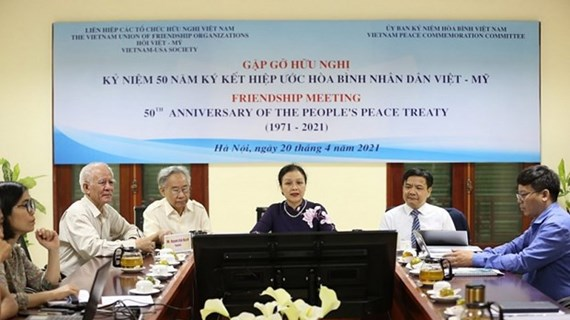 Gathering marks 50 years of Vietnam - US People's Peace Treaty