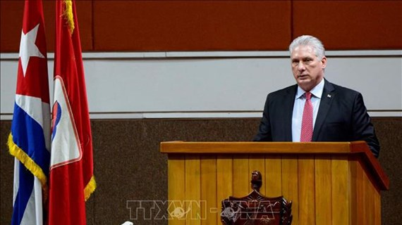 Party chief congratulates leader of Communist Party of Cuba
