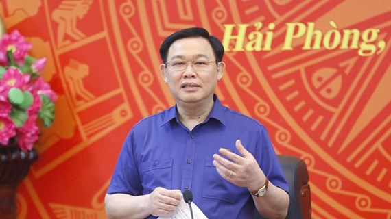 NA Chairman works with Party Committee's Standing Board of Hai Phong city