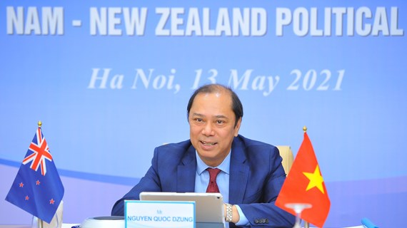 Vietnam, New Zealand hold 12th political consultation