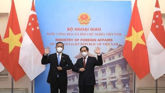 Vietnam, Singapore to work towards bilateral agrement on digital economy