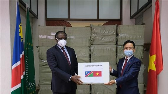 Vietnamese people assists African countries in COVID-19 combat