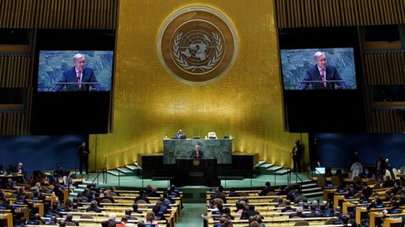 UNGA 76: President Nguyen Xuan Phuc attends general debate's opening session