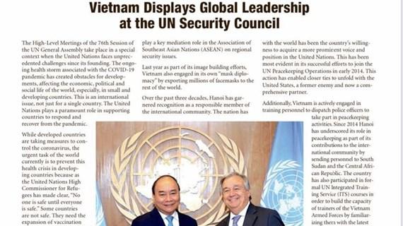 Vietnam displays global leadership at UNSC: The Washington Times