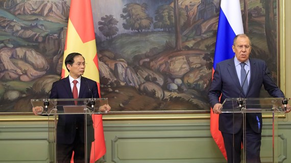 Vietnam - Russia partnership keeps developing dynamically: FMs