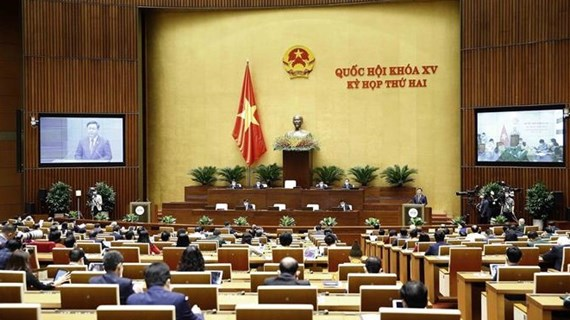 Second session of 15th National Assembly opens