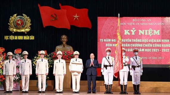 President highlights need for elite, politically firm People's Security Academy