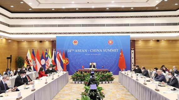 PM Pham Minh Chinh attends 24th ASEAN-China Summit