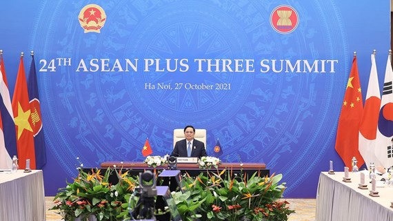 PM calls on ASEAN Plus Three nations to promote strengths in handling crisis