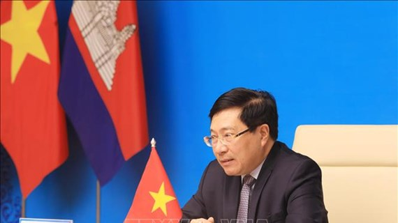 Vietnam, Cambodia further coordination in building shared border of peace, development