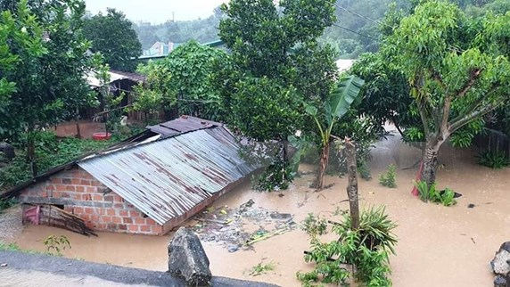 Storm Molave causes damages in central region