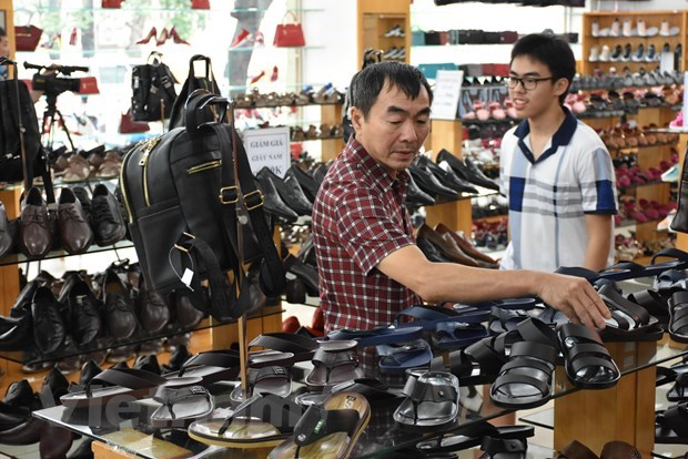 Leather-footwear exports post double-digit growth rate in Q1 hinh anh 1