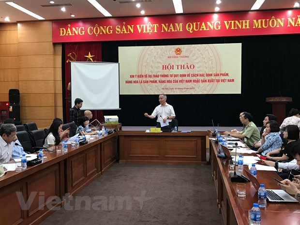 Circular to be issued to help identify Vietnamese goods hinh anh 1