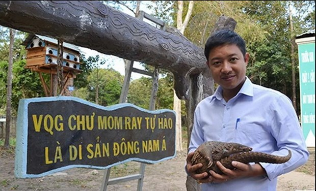 "Chu Mom Ray National Park – ""Paradise"" for rare animal species hinh anh 1"