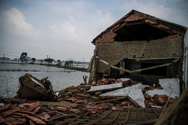 Plan seeks 40 million USD for flood response in Vietnam hinh anh 1