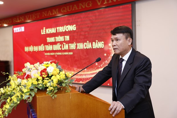 VNA launches special website on 13th National Party Congress hinh anh 3