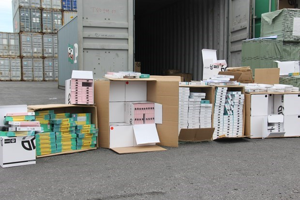 Customs sector seizes over 180 mln USD worth of illegal goods from Jan-Nov hinh anh 1