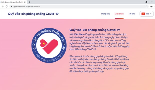 COVID-19 vaccine fund to help Vietnam soon return to normal hinh anh 2