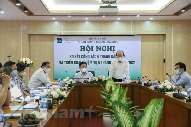 Stock market of Vietnam posts world's second fastest growth hinh anh 1
