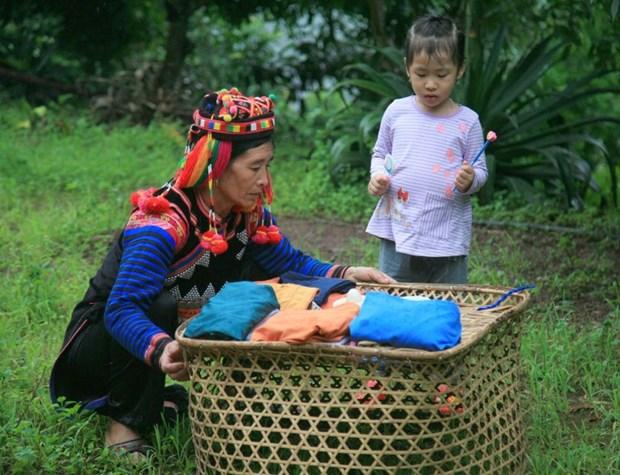 Unique rainy season festival of Ha Nhi ethnic people hinh anh 3