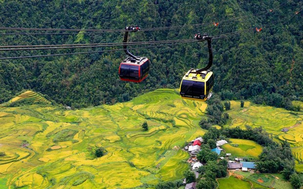 Fansipan cable car system adds to attractiveness of Sa Pa hinh anh 1