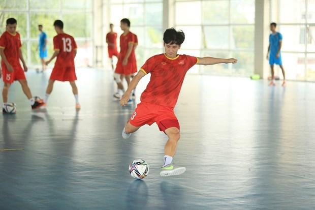 Vietnam's futsal team gain FIFA praise ahead of 2021 World Cup hinh anh 2