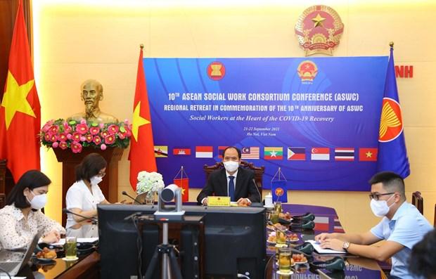 ASEAN Social Work Consortium convenes 10th meeting hinh anh 1