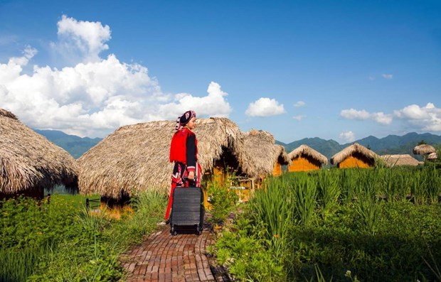 Vietnamese opt for sustainable tourism after COVID-19 hinh anh 1