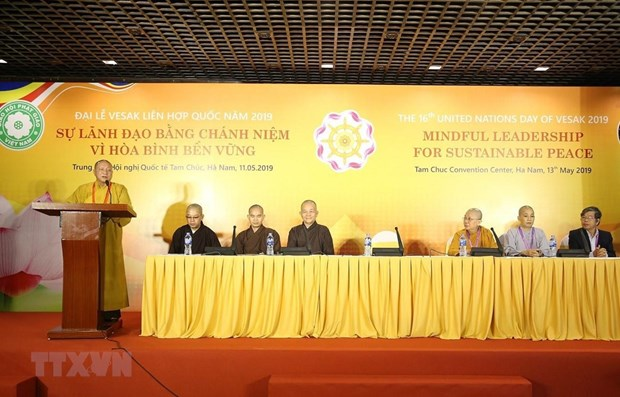 Vesak 2019: Seminar talks mindful leadership for world peace hinh anh 1