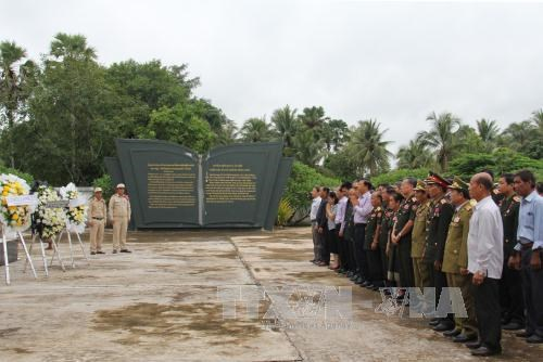 War martyrs commemorated abroad hinh anh 1