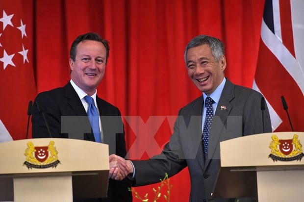 Singapore, UK enhance cyber space security cooperation hinh anh 1